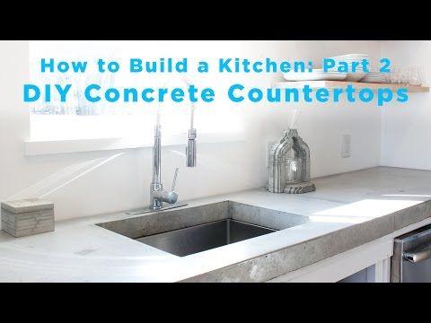 YouTube - el mejor DIY para encimera de concreto | DIY construcción ...