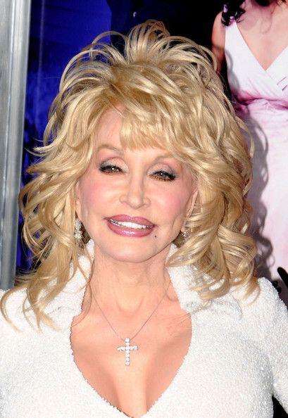 Dolly Parton Medium Curls With Bangs Hair In 2019 Medium