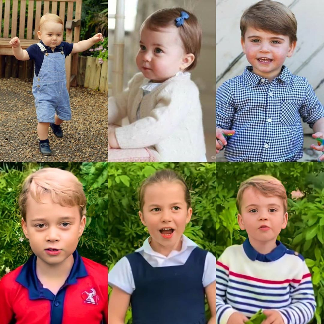 "The Cambridge Family 🌻 on Instagram: ""When did this happen?? These babies are growing up soo fast! 😭❤️👆🏼 🌹 #PrinceWilliam #katemiddleton #royals #British #uk #unitedkingdom…"""