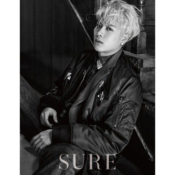 GOT7's Mark and Jackson go for a darker mood for 'Sure' ❤ liked on Polyvore featuring got7