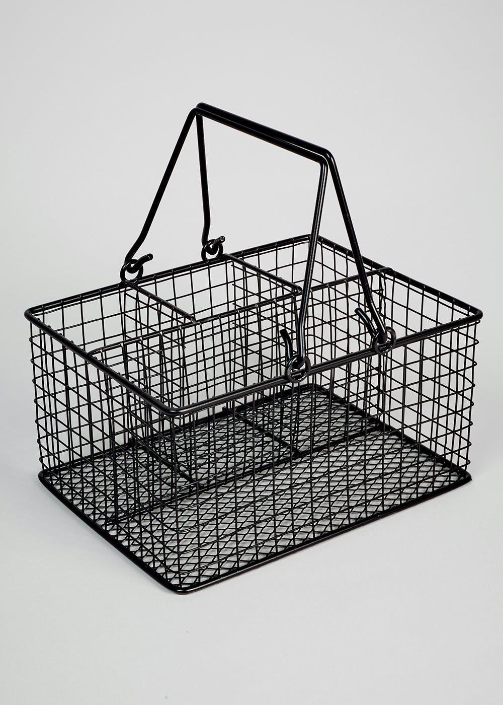 Wire Basket (21cm x 16cm x 11cm) | Wire basket, Kitchen design and ...