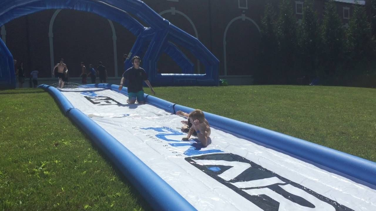 Cool off this summer on this super sweet slide www