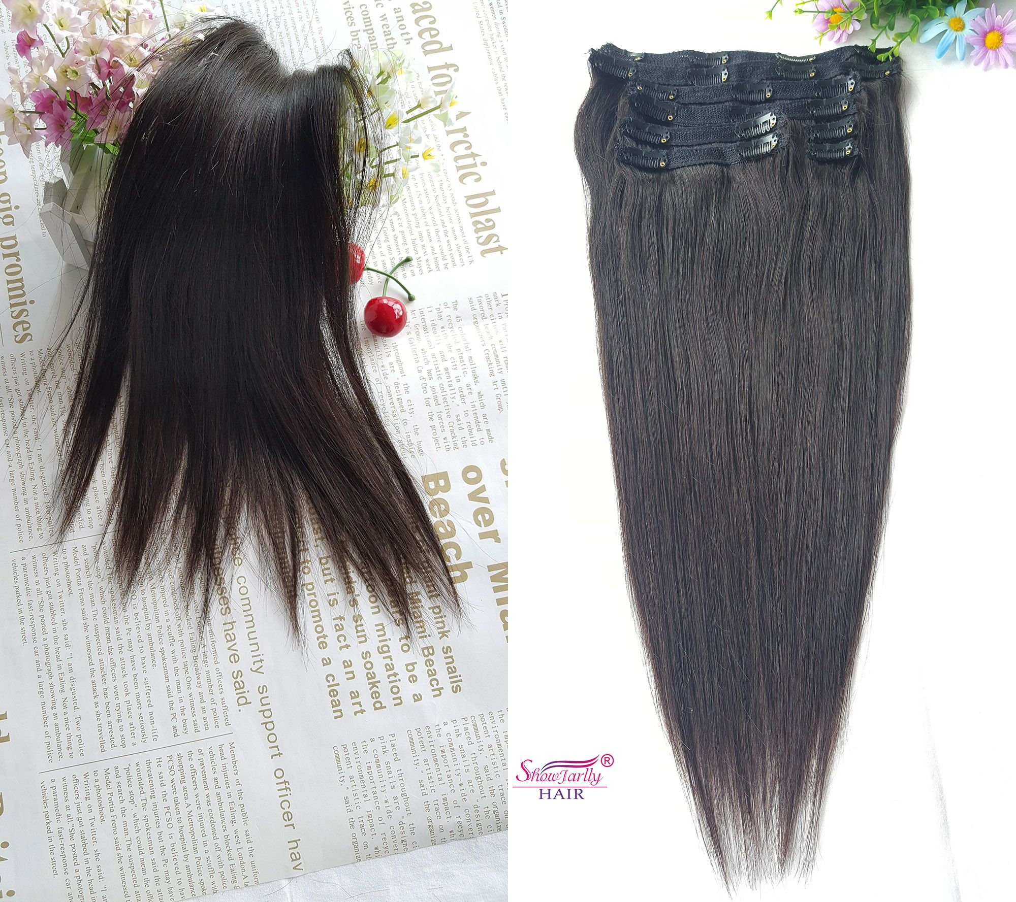 1b Clip In Hair Extensions 8 Pieces Whatsapp Me 86 157 3685 0247