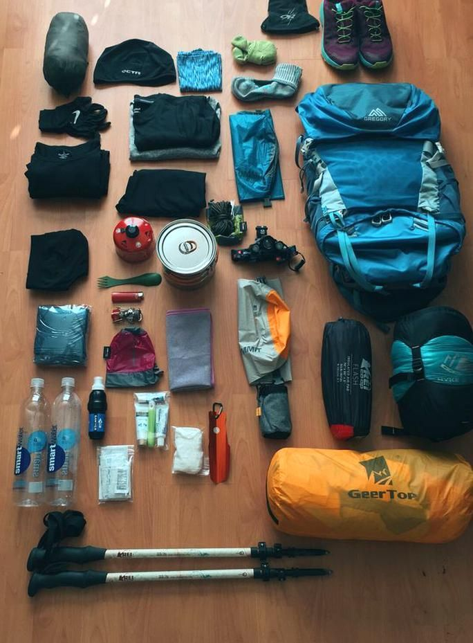Photo of Appalachian Trail Gear List – Those Wild Days