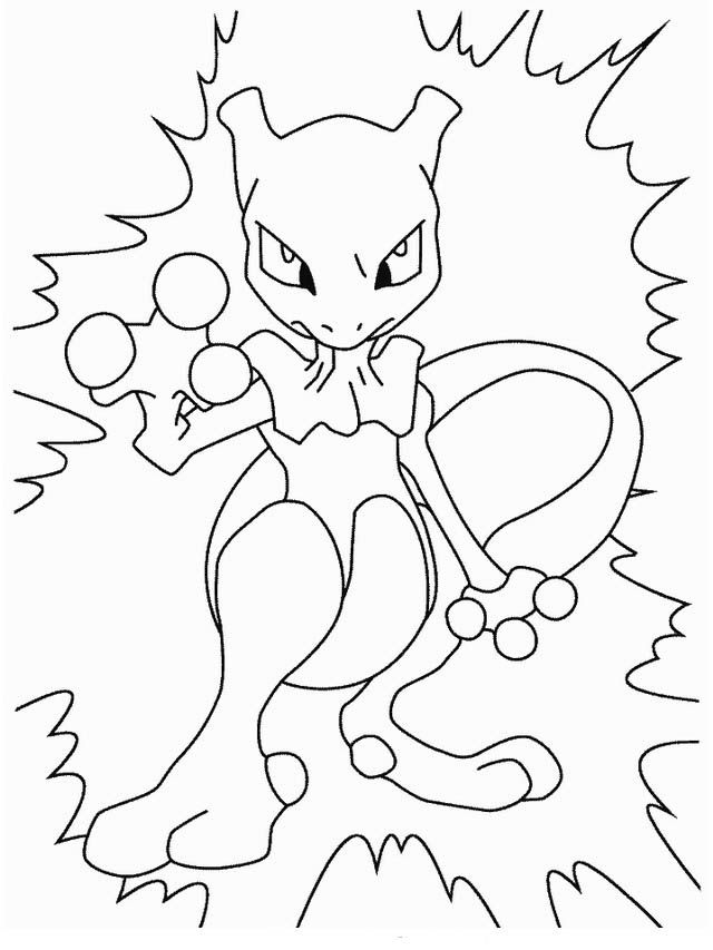 Desenhos Para Pintar Pokemon 3 Desenhos Para Colorir Pokemon
