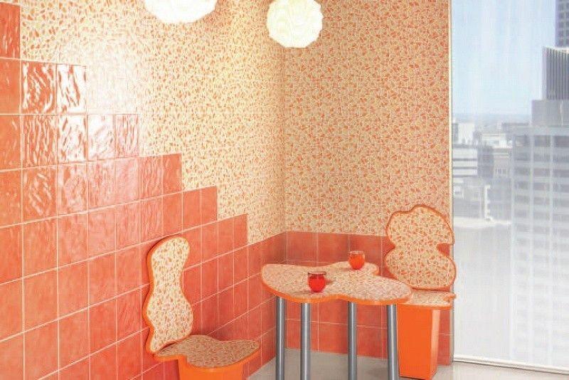 Piastrelle Bagno Arancione.Offerta Mainzu House Mila Arancio 20x20 Cm Ceramica