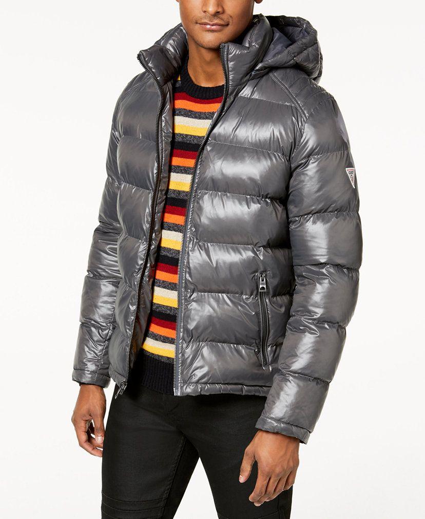 Guess Men S Hooded Puffer Coat Reviews Coats Jackets Men Macy S Puffer Coat Guess Men Mens Hooded [ 1012 x 828 Pixel ]