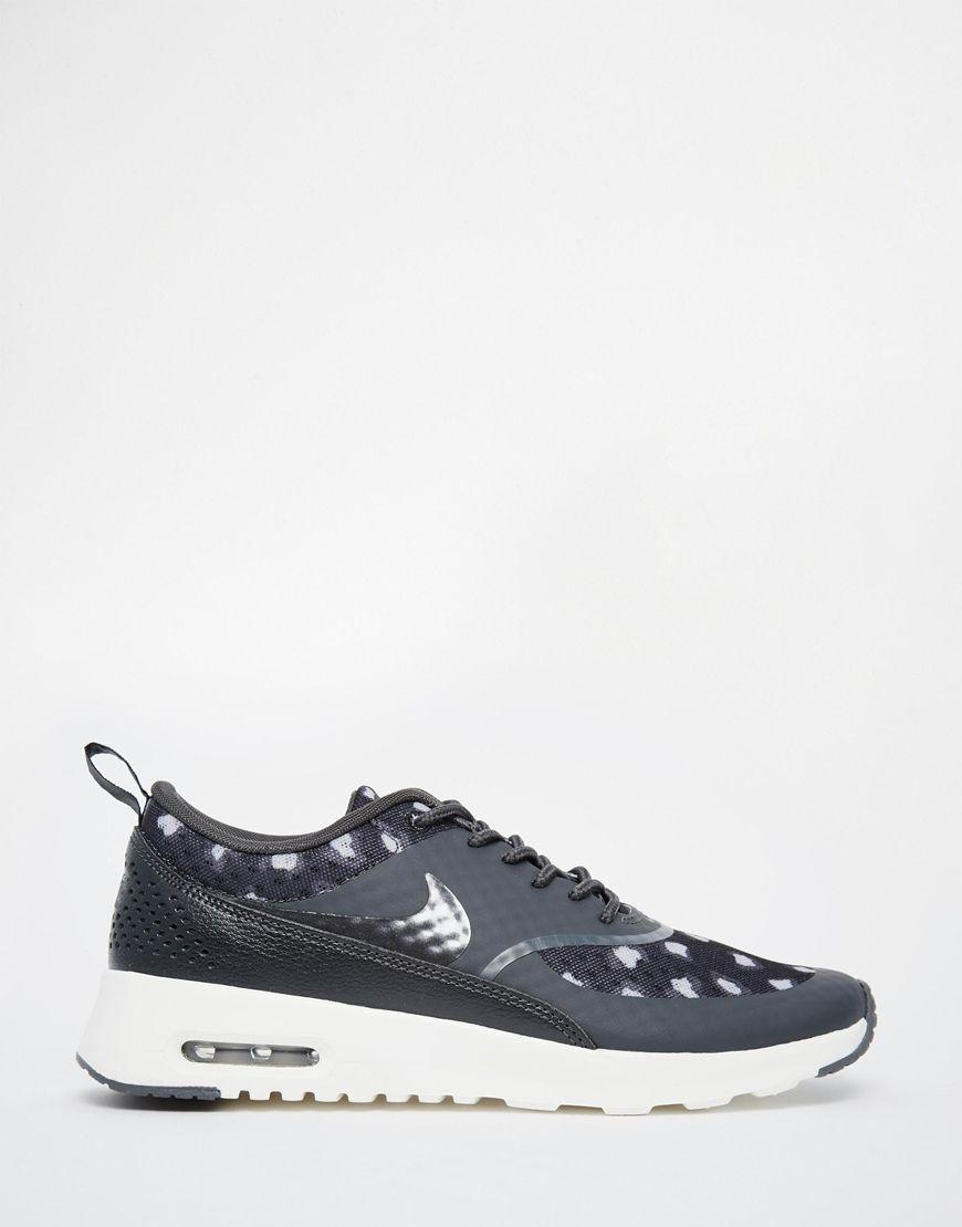 the best undefeated x outlet store sale Nike - Air Max Thea - Baskets imprimées - Noir et gris ...