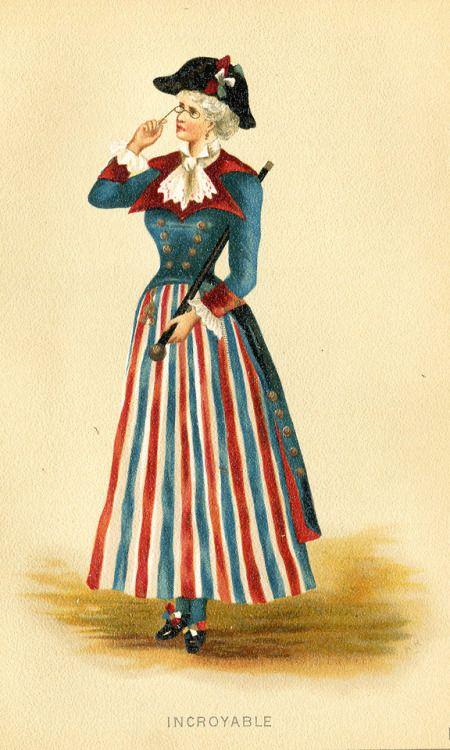 Incroyable, v. 1880