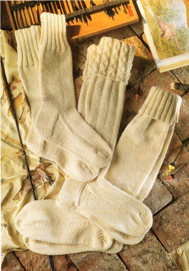mens aran socks knitting pattern pdf kilt socks fishermens socks ...