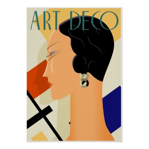 Art Deco Fashion 03 Print