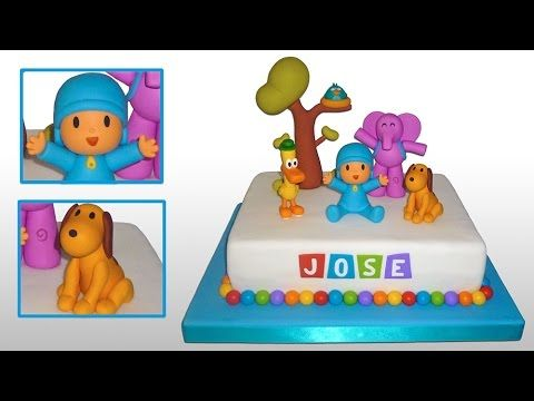 Pocoyo Cake Toppers Part 1 Pocoyo And Loula C 243 Mo