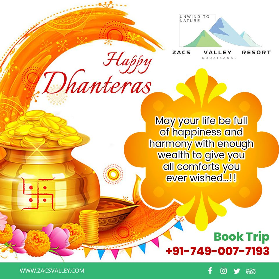 HAPPY DHANTERAS...!! #dhanteraswishes