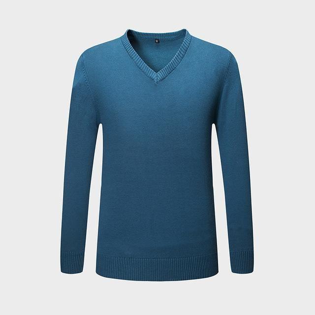 UUYUK Men Winter Thicken Turtleneck Twist Pullover Knitted Sweater
