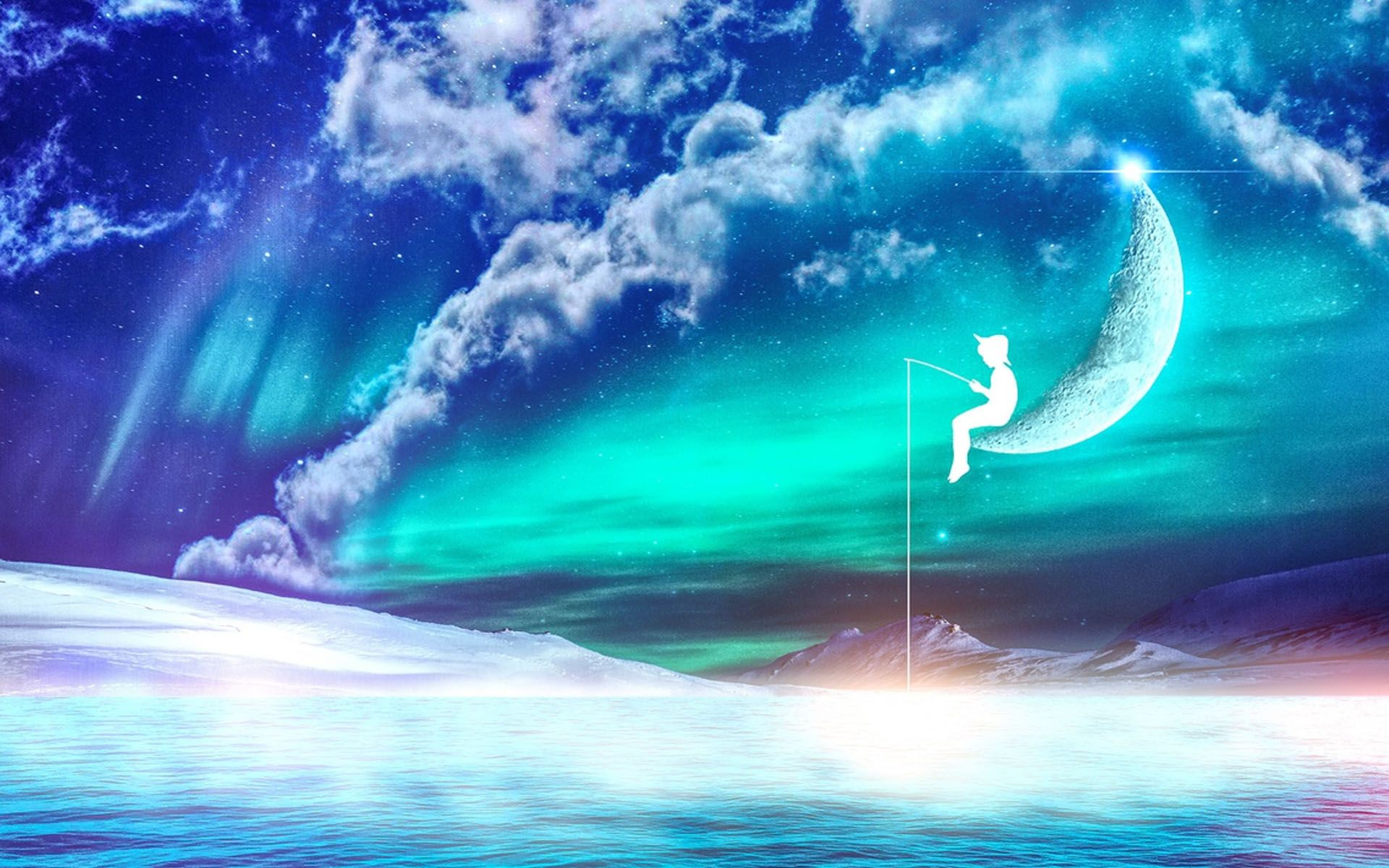Fishing Fantasy Hd Wallpaper Legal Psychedelics Lucid Dreaming Lucid