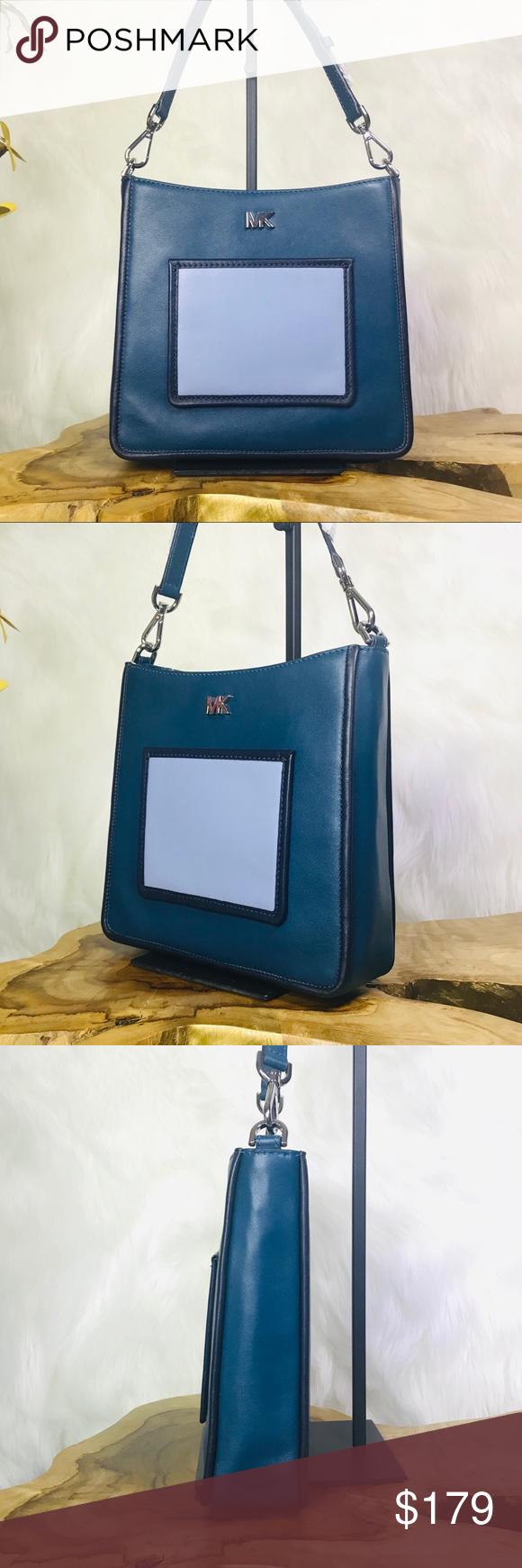 5a47558073ec Michael Kors Gloria Pocket Swing Pack Crossbody MICHAEL Michael Kors Gloria  Pocket Swing Pack Crossbody Bag