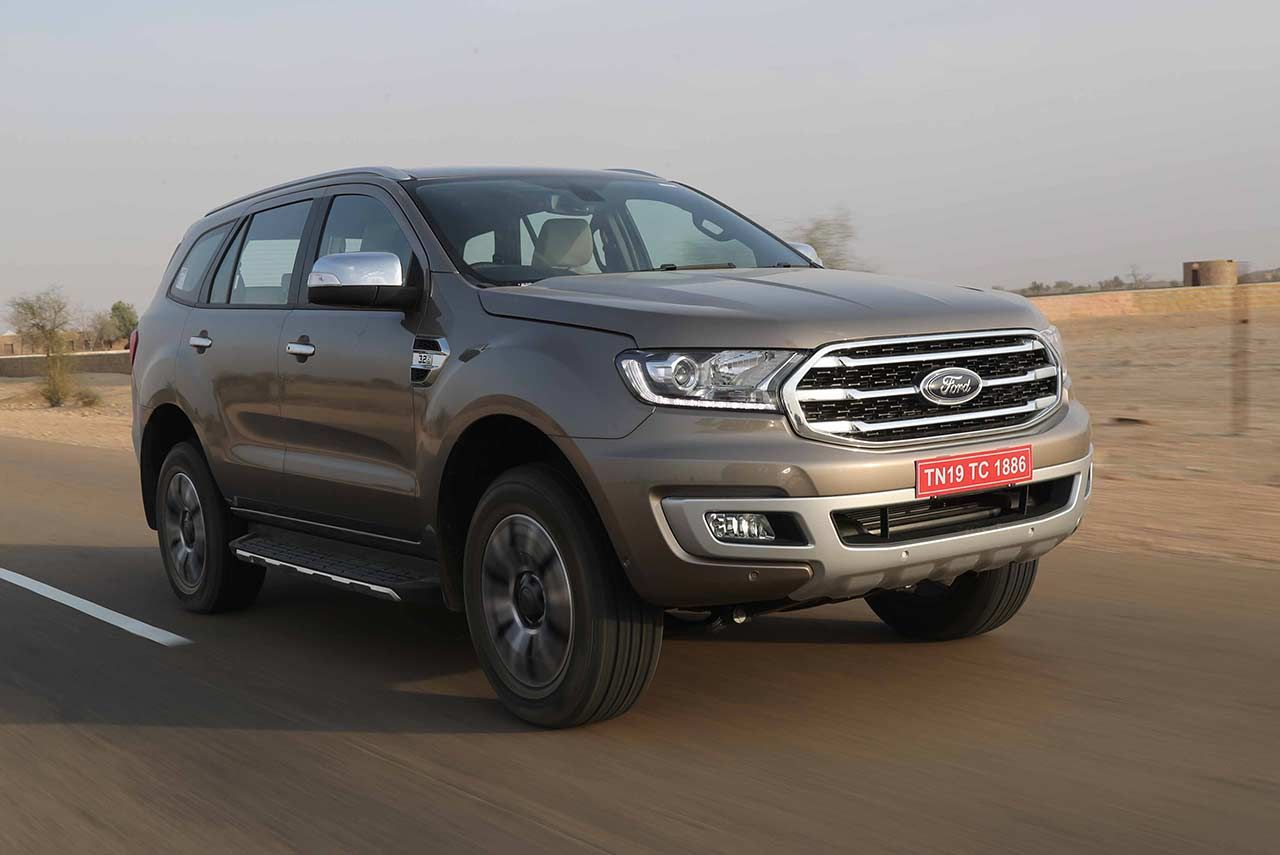 2020 Ford Endeavour With 2 0l Ecoblue Diesel Engine Launched In