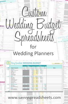 branded wedding budgets in 2018 free wedding printables