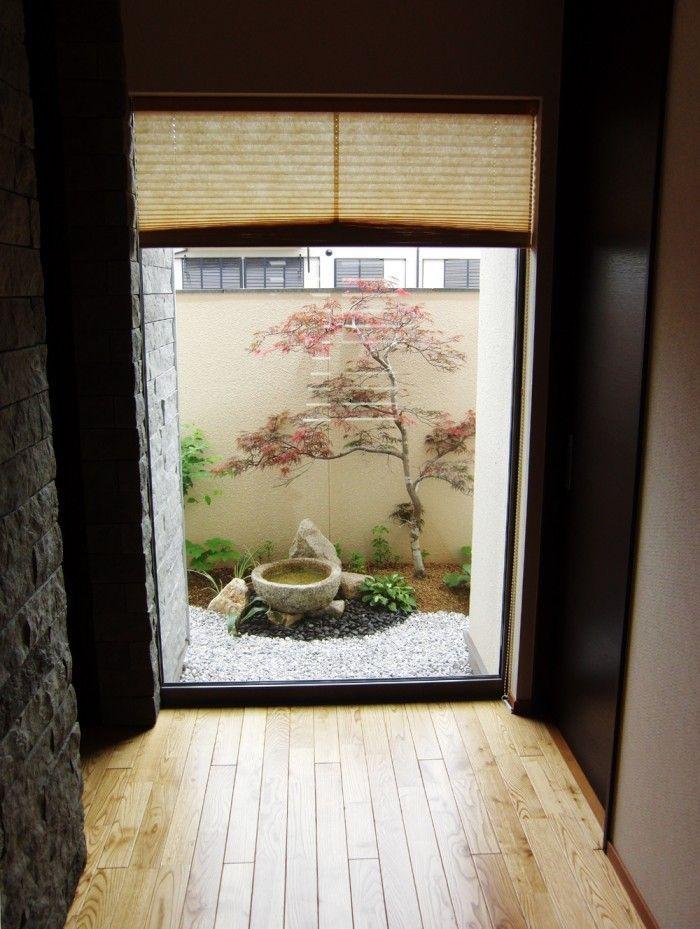 Small Space Japanese Garden, Garden Japan, Japanese Garden Design, Japanese  Maple #japanesegarden