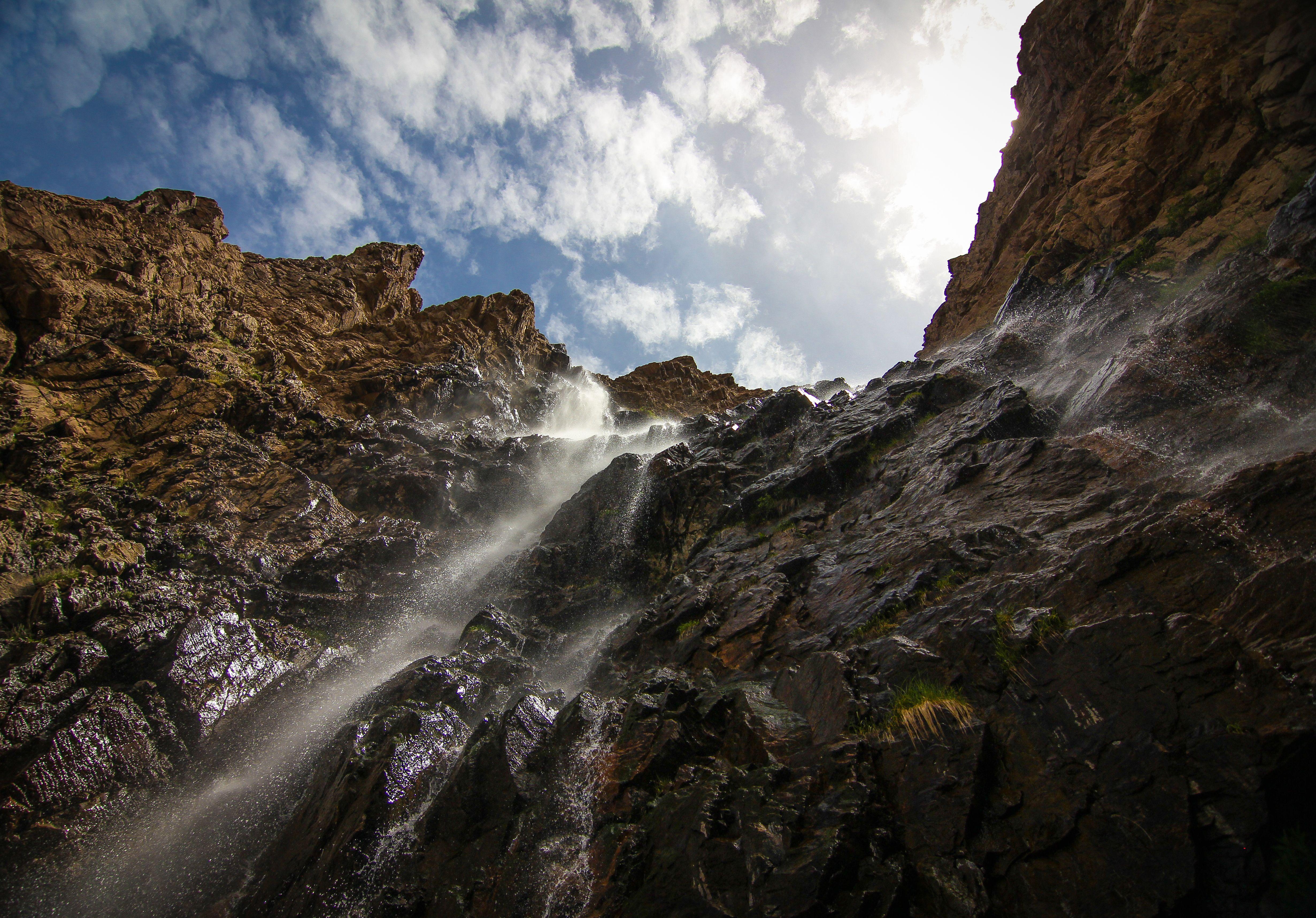 Hiking Waterfall Canyon, Ogden, UT Beginner hiking