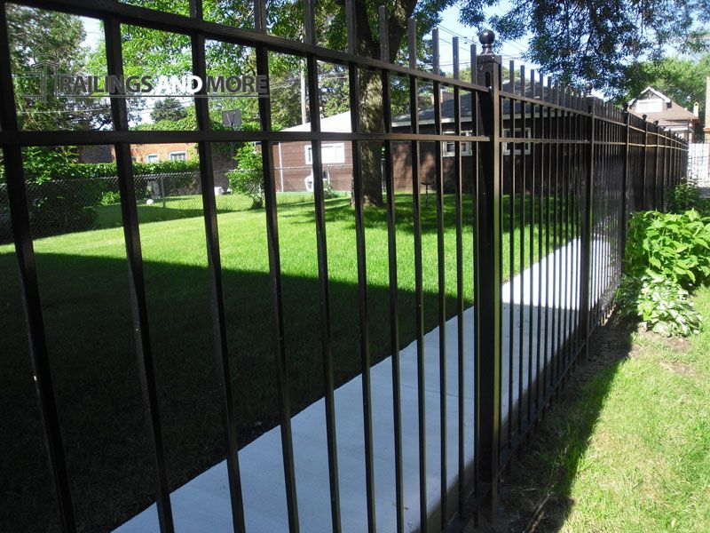 R M Chicago Wrought Iron Fences And Gates Installation And