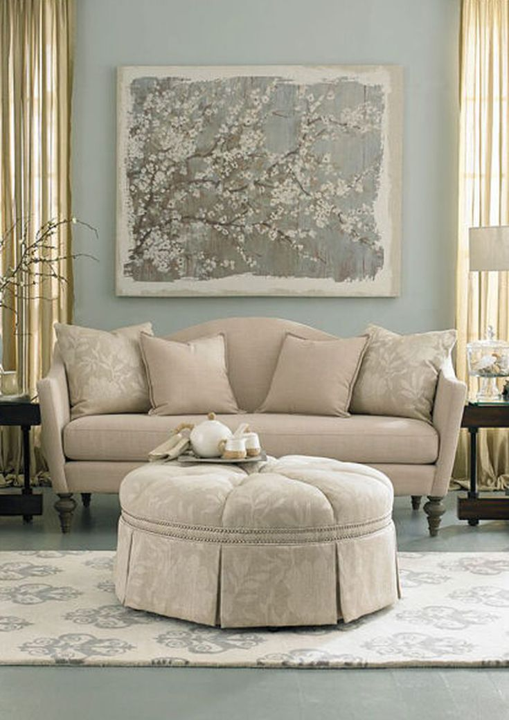 The Marcy Collection Is Designed For The Traditionalist At Heart The Classic Silhouette With A Bench Sea Living Room Sets Aico Furniture Living Room Furniture