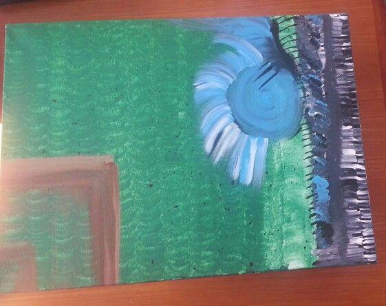 #paintingOnCanvas #abstract #hiddenFeelings