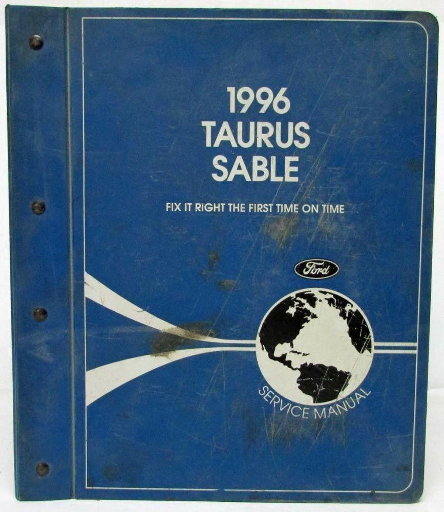 Manuals & Literature 1996 Ford Taurus Sho Mercury Sable Service ...