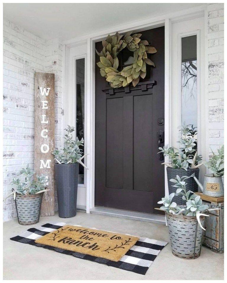 53 best spring front porch decorating ideas 36 #farmhousedecor