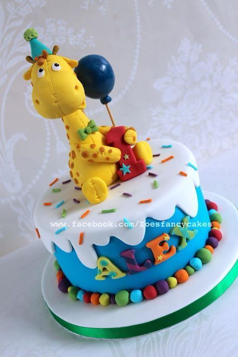 TORTAS Tortas Pinterest Cake Giraffe cakes and Birthday cakes