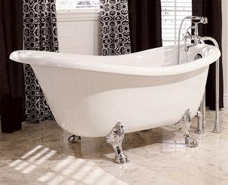 pingl par amel nara sur projet paris pinterest baignoire sur pieds baignoire sabot et. Black Bedroom Furniture Sets. Home Design Ideas