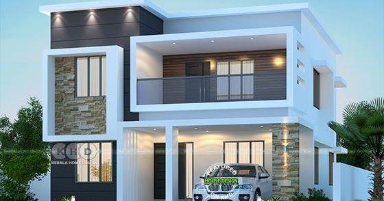 4 bedrooms 2550 sq ft modern home design