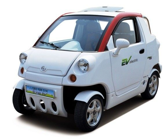 Korean Automaker Ct T E Zone Neighborhood Electric Vehicle