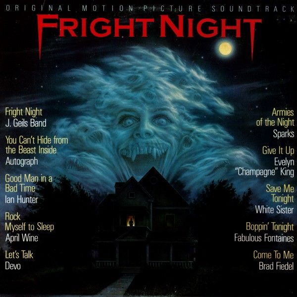 Fright Night Soundtrack This Is An Excellent Vinyl Lp That Is In Stock At Cdbbq When You Fright Night Soundtrack Night