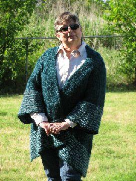 Ravelry: Loom Knit Weekender Sweater by Kathy Norris