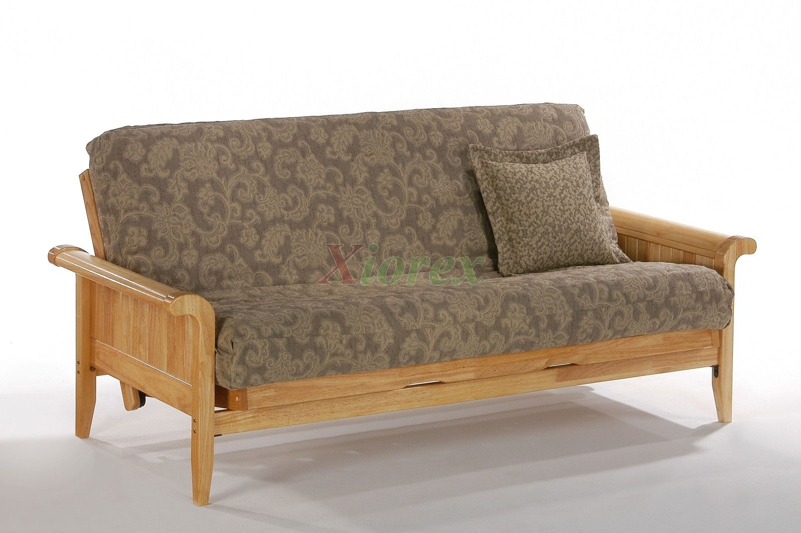 sleigh arm futon design night and day venice futon natural   xiorex night and day venice sleigh arm futon design night and day venice futon natural      rh   pinterest