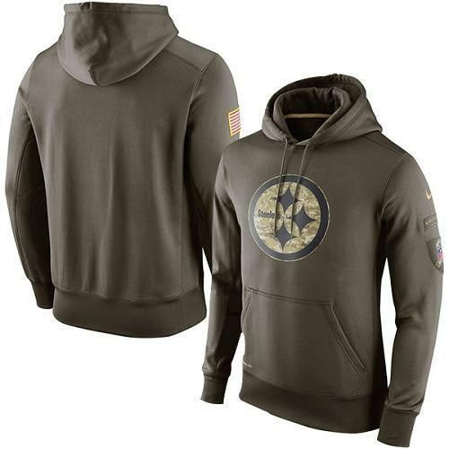 Pittsburgh Steelers military hoodies. Salute to Service apparel by Nike. S d38377230