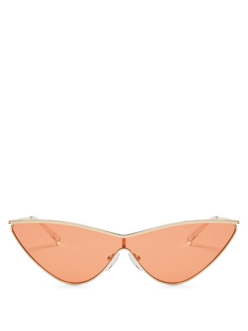 4c9894043 Le Specs X Adam Selman The Fugitive sunglasses | Sunnies | Le specs ...