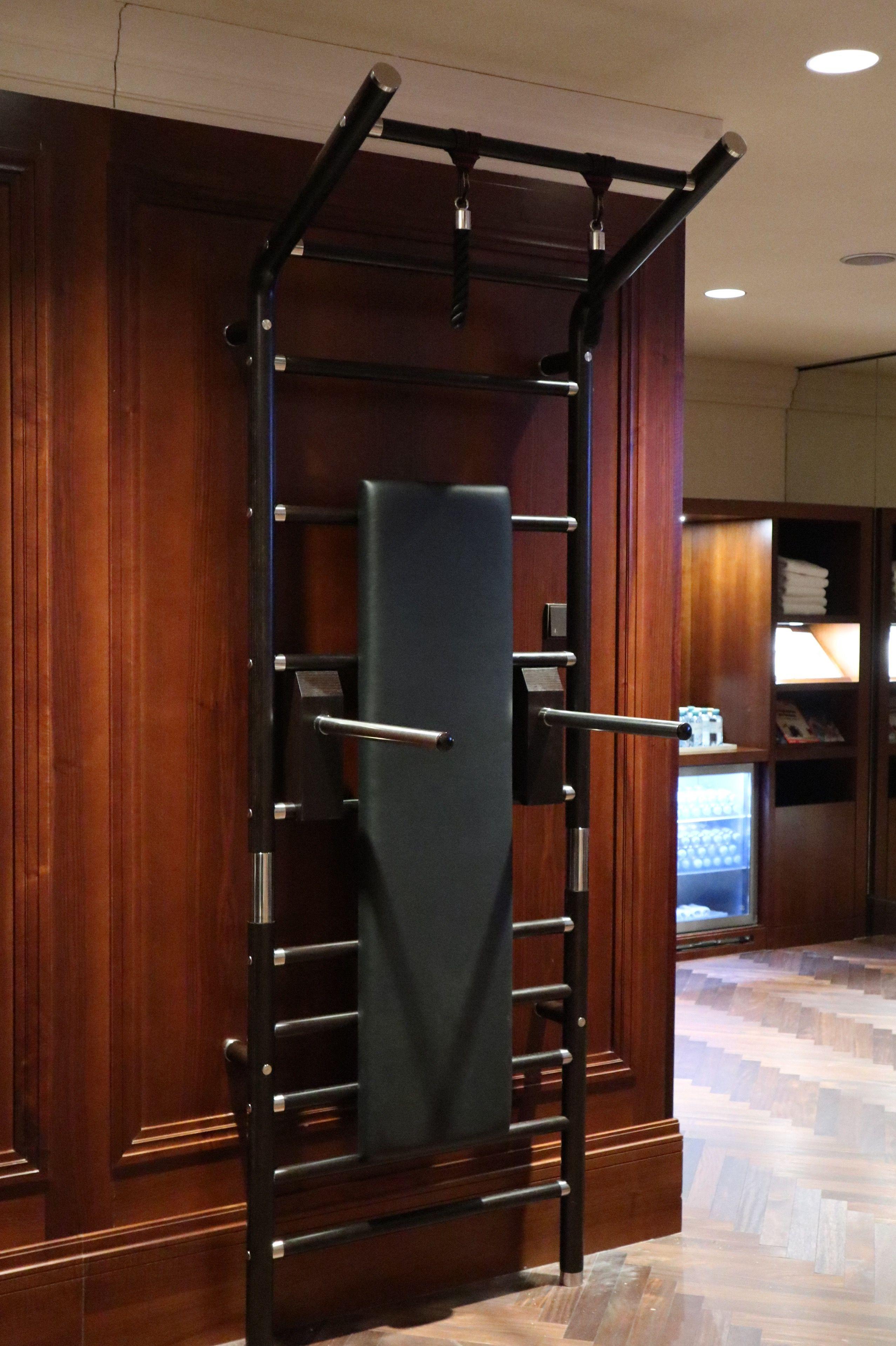 Luxus/Design Sprossenwand maxwall Design homegym Holz