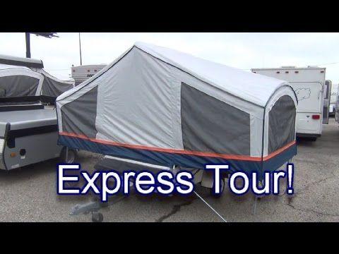 Express Tour 2012 Coachmen Clipper Express Popup Camper Tent