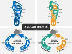 Carbon footprints powerpoint diagram powerpoint diagrams charts carbon footprints powerpoint diagram maxwellsz