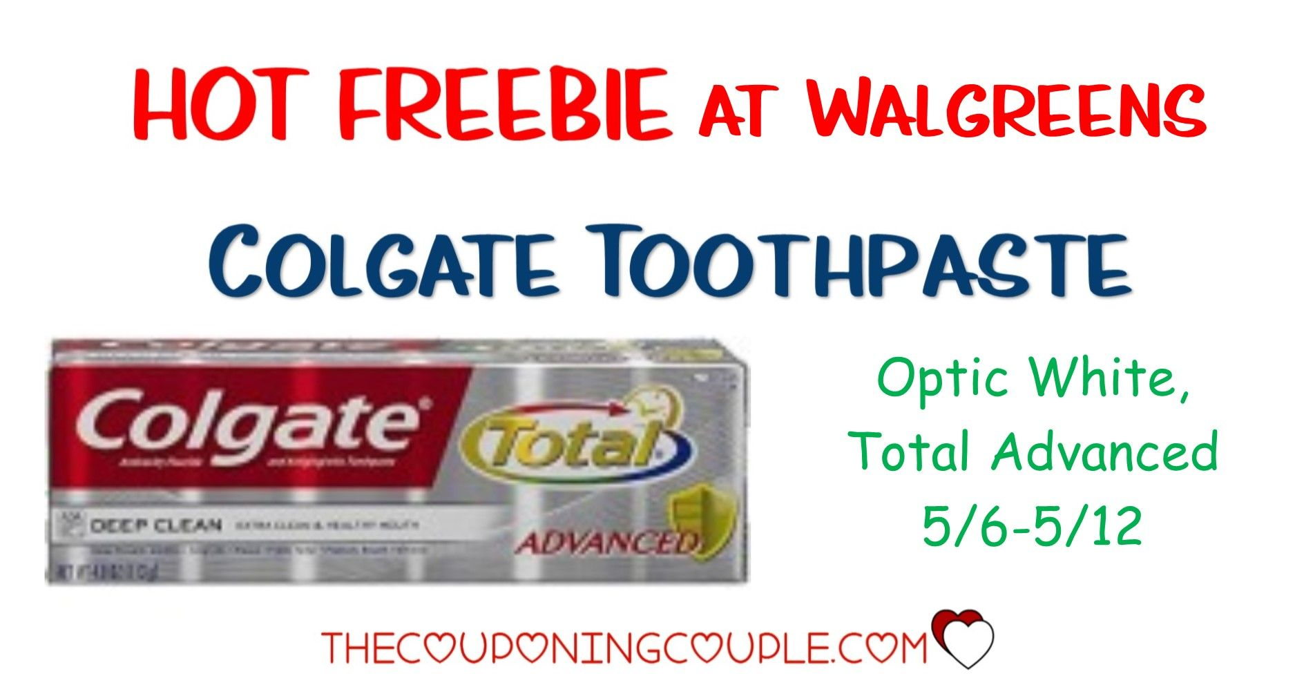 Moneymaker Colgate Total Advanced Optic White Toothpastes At