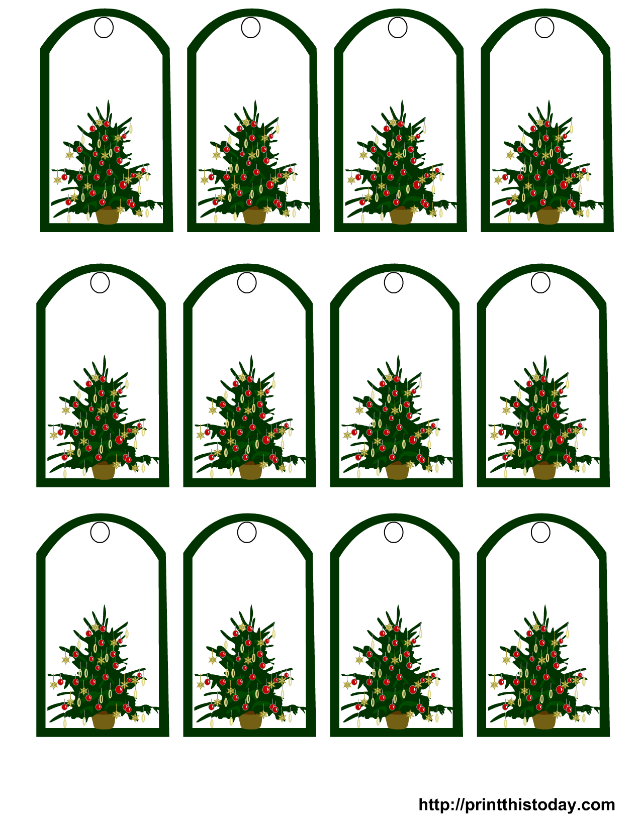 christmas-gift-tags-7.png 1,275×1,650 pixels | printables ...