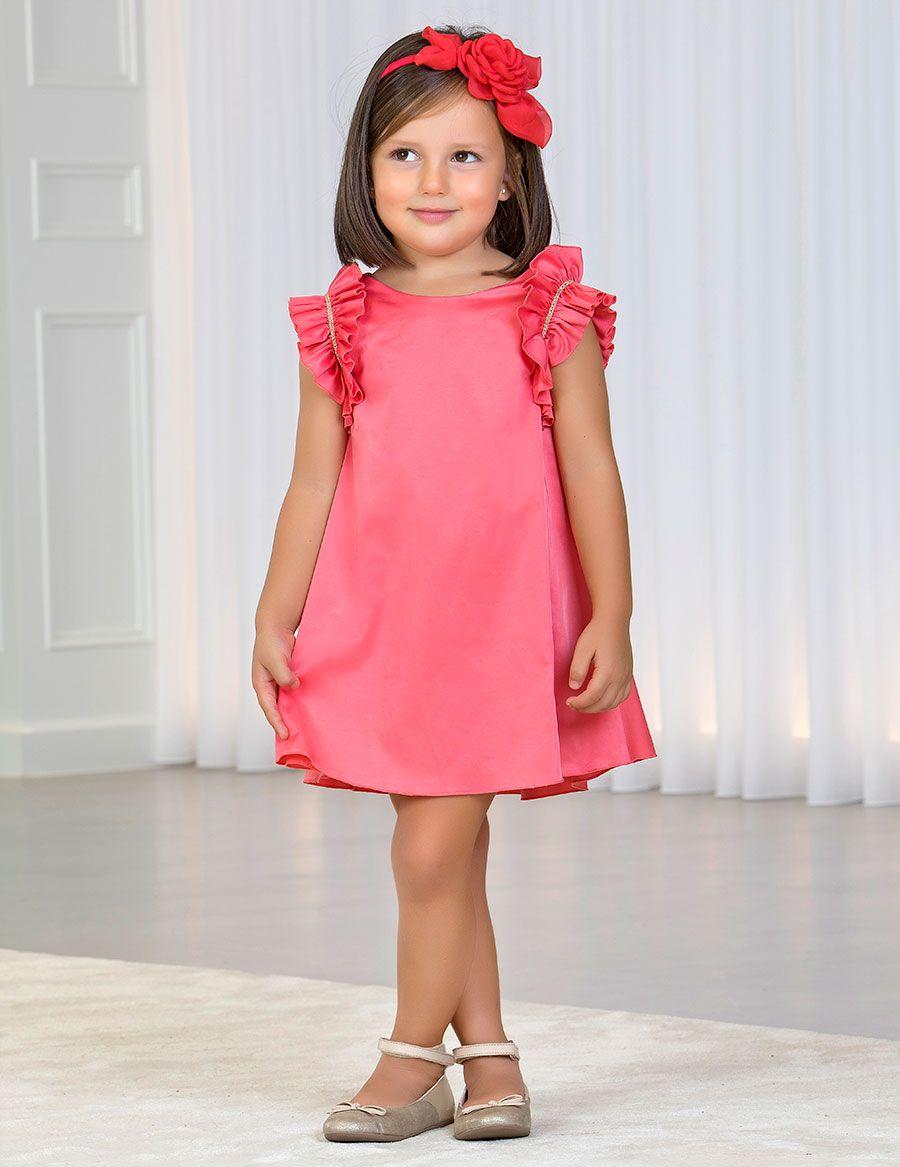 d51db0d67c13 Abel   Lula Colección Primavera-Verano 2019. Vestido para niña de ...
