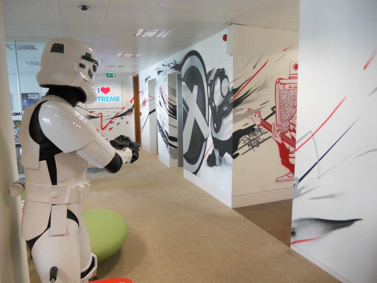 Office Graffiti Wall Graffiti Art For Offices Graffiti
