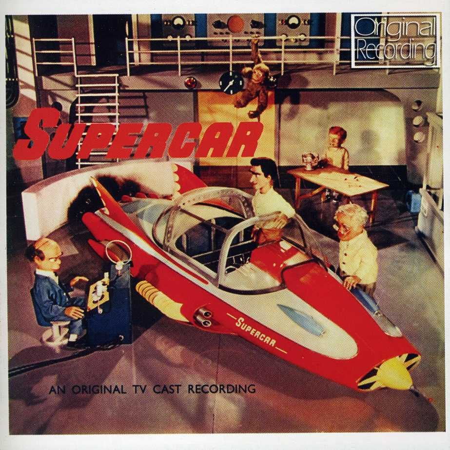 Supercar Tv Series 1960s Recherche Google Super Cars Gerry Anderson Thunderbirds Are Go