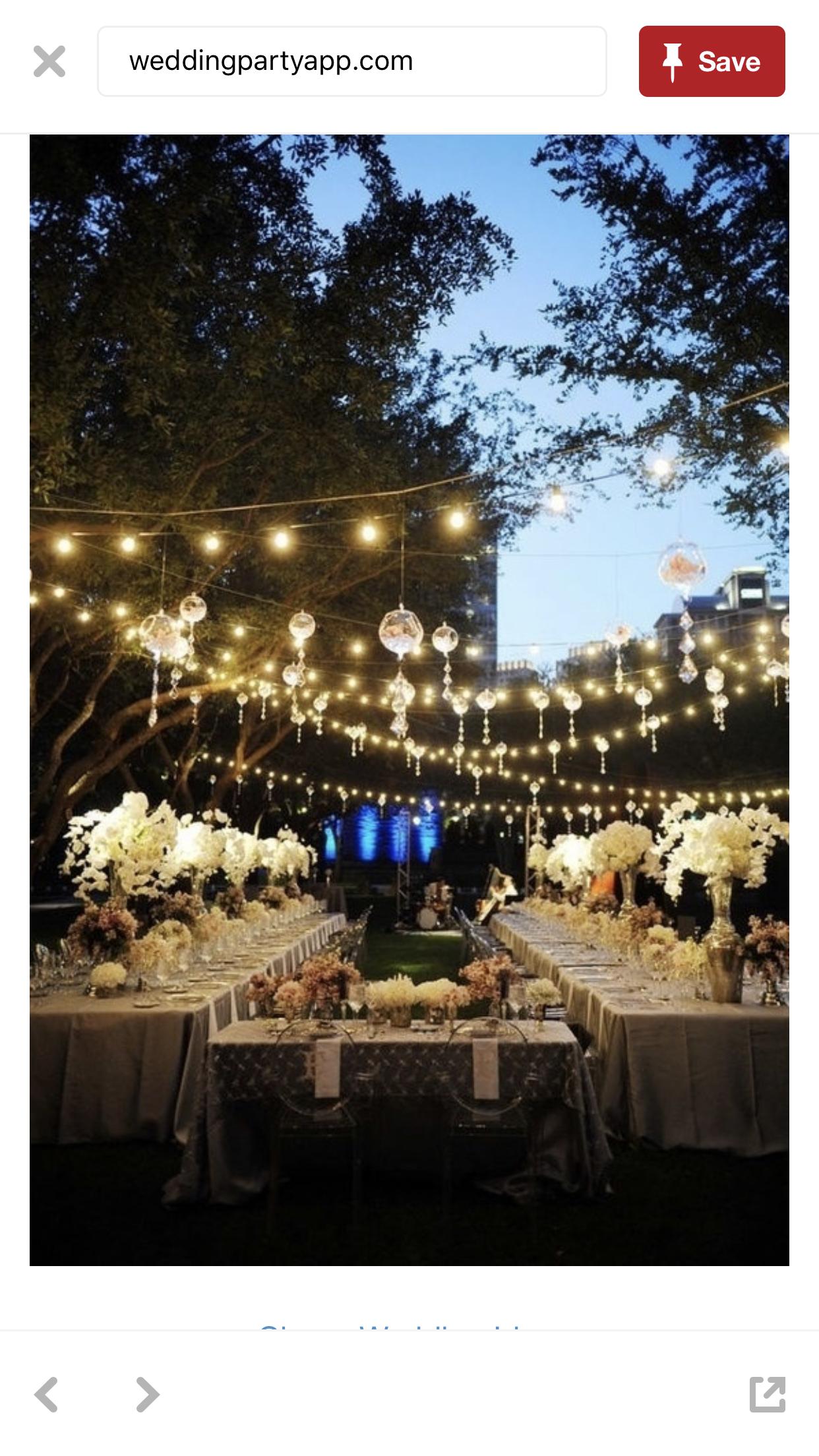 Outdoor Wedding Reception Decoration Ideas Weddings