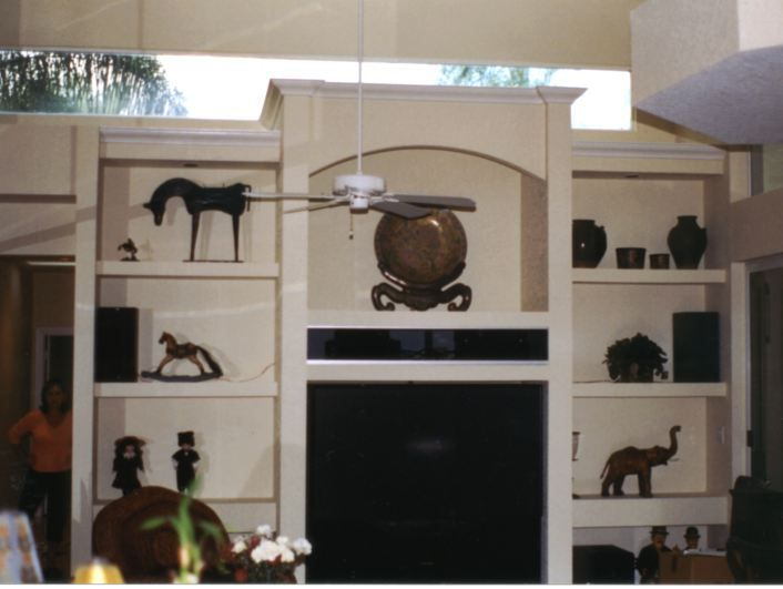 This Entertainment Center Was Built To Match Existing Homeowner S