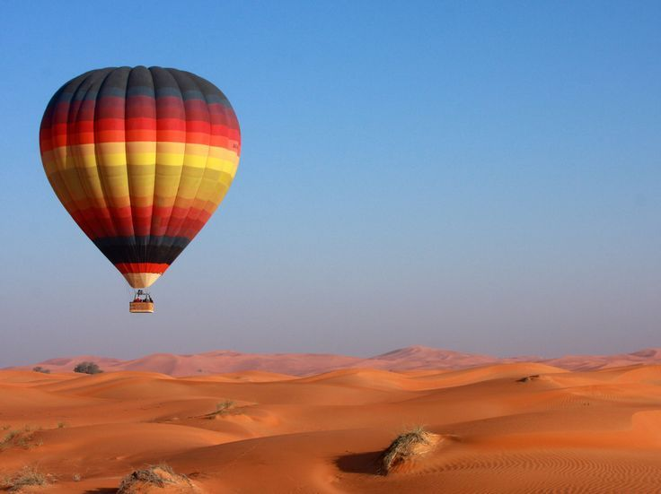 Voo de balão em Dubai