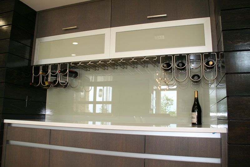 Back Painted Glass Kitchen Backsplash Part 2 Tempered Glass